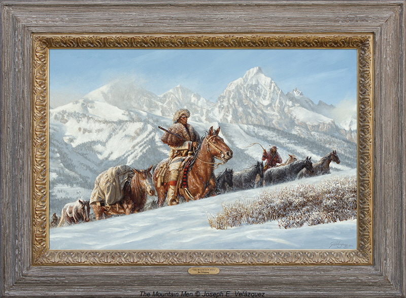 Framed The Mountain Men