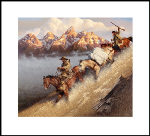 Race to Jackson's Hole print whb