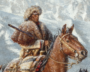 The Mountain Men Close Up